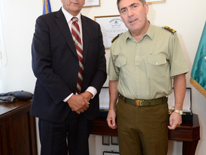 Alcalde se reunió con General de Carabineros