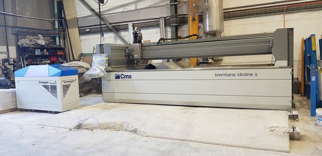 CMS Brembana Idroline S 5-Axis Waterjet