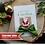 Thumbnail: Christmas Card For Wife, Handmade Santa Keepsake Card, Personalised Wording