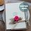 Thumbnail: Luxury Handmade Card for Wife, Personalised Birthday Keepsake, Rustic Rose