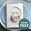Thumbnail: Handmade Birthday Card, Shabby Chic Rose, Personalised Card From Daughter to Mum