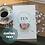 Thumbnail: Handmade Anniversary Card, Personalised Keepsake, Pink Floral