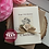 Thumbnail: Shabby Chic Birthday Card, Handmade Happy 30th Gift Daughter