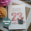 Thumbnail: To My Amazing Daughter, 23rd Birthday Card, Personalised Numbers and Name