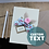 Thumbnail: Stylish Bridesmaid Card, Personalised Maid of Honour Invites