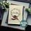 Thumbnail: Handmade 21st Birthday Card for Daughter, Personalised Name, Watercolour Wreath