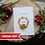 Thumbnail: Christmas Card Mum, Elegant Handmade Wreath Card For Parents