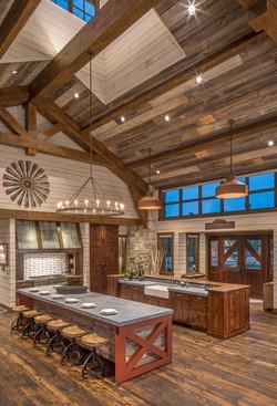 Omaha Rustic Kitchen