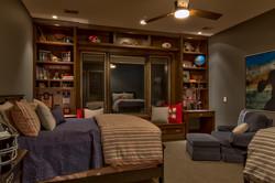 Open Bedroom Storage