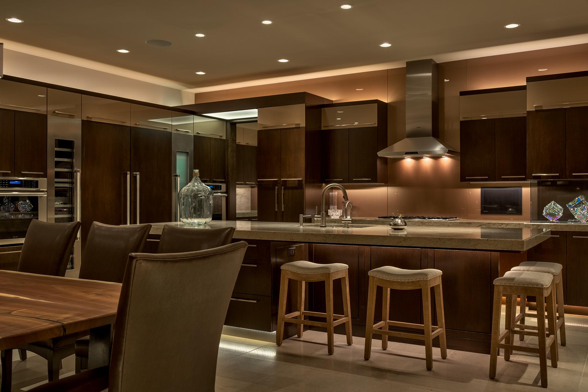 Contemporary Oak Kitchen
