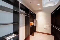 Black Melamine Closet Essentials