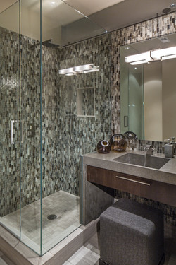 Contemporary Powder Bath