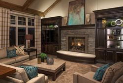 Transitional Living Room - Omaha, NE