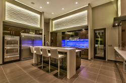 Contemporary Lakefront Kitchen