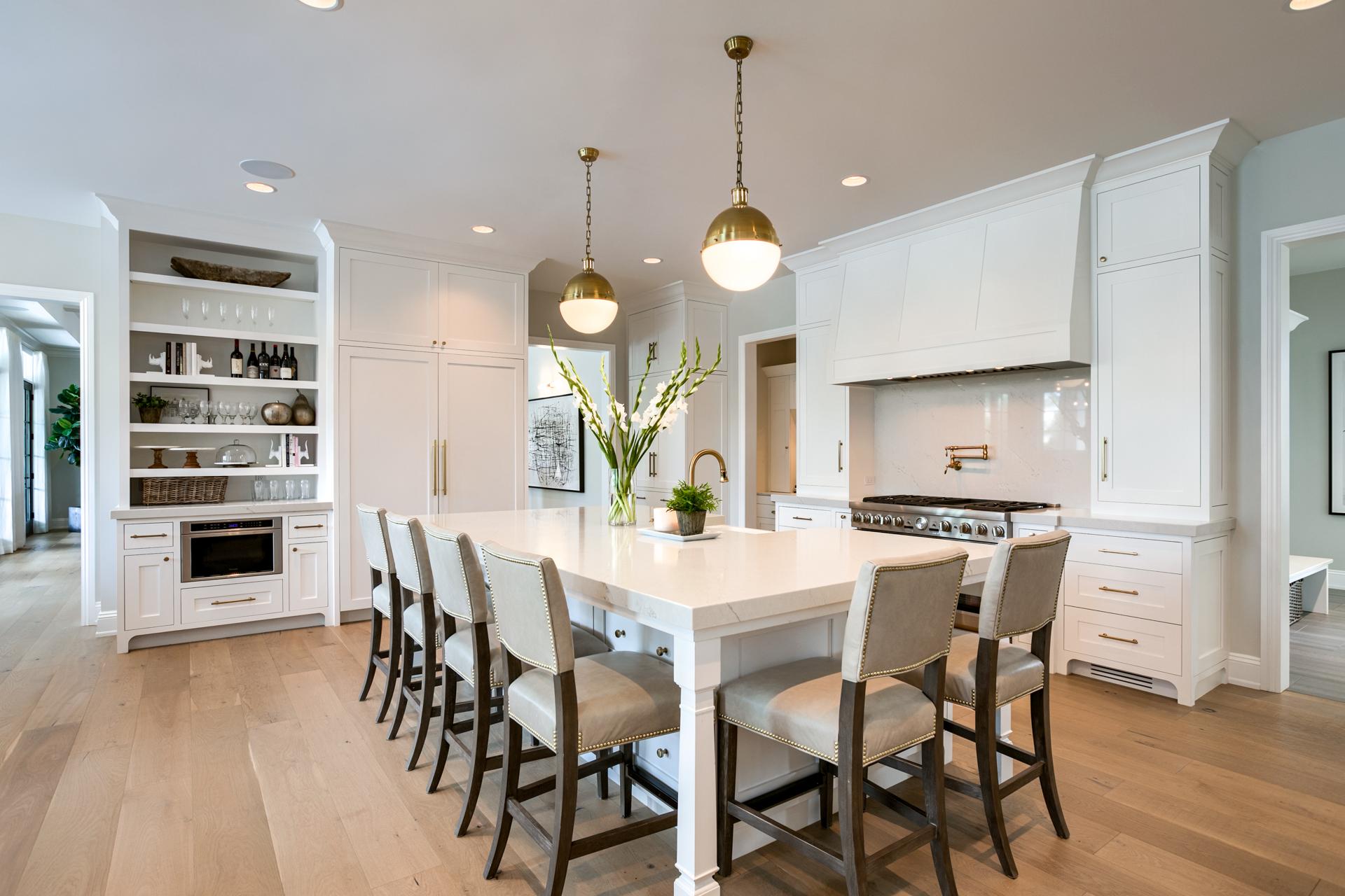 Eurowood White Inset Kitchen
