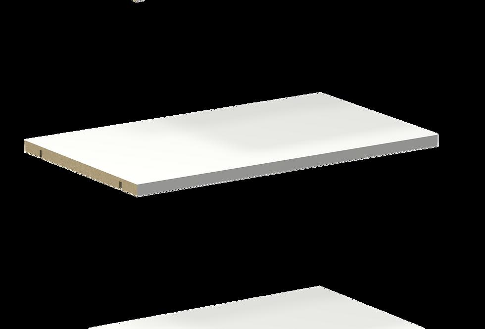 Top, Bottom, Fixed Shelf Set