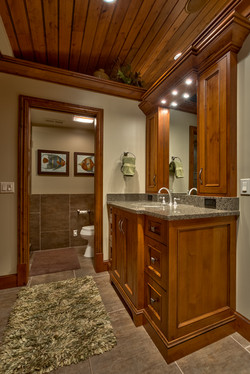 Stained Alder Guest Bath