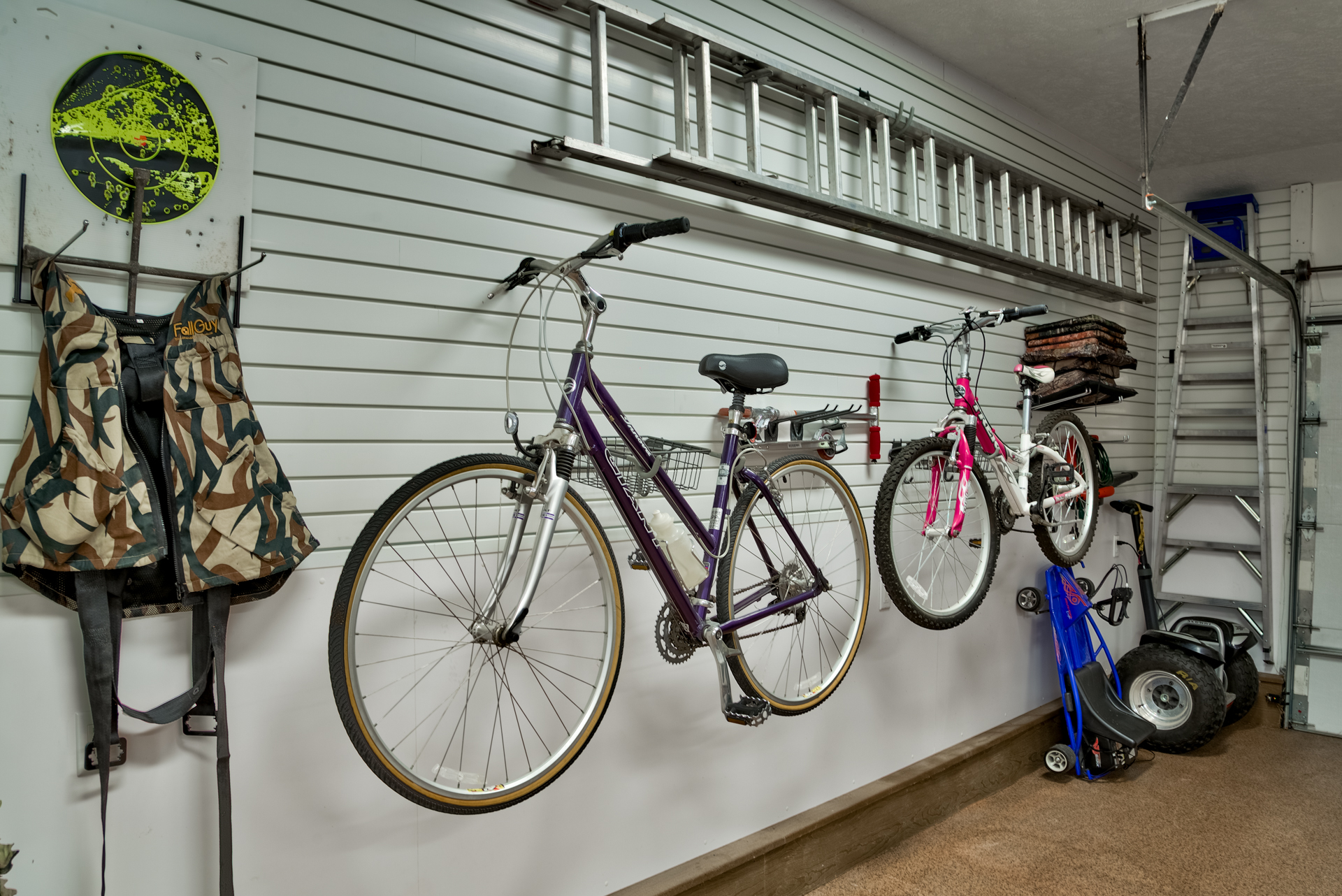 Slat Wall Bike Rack