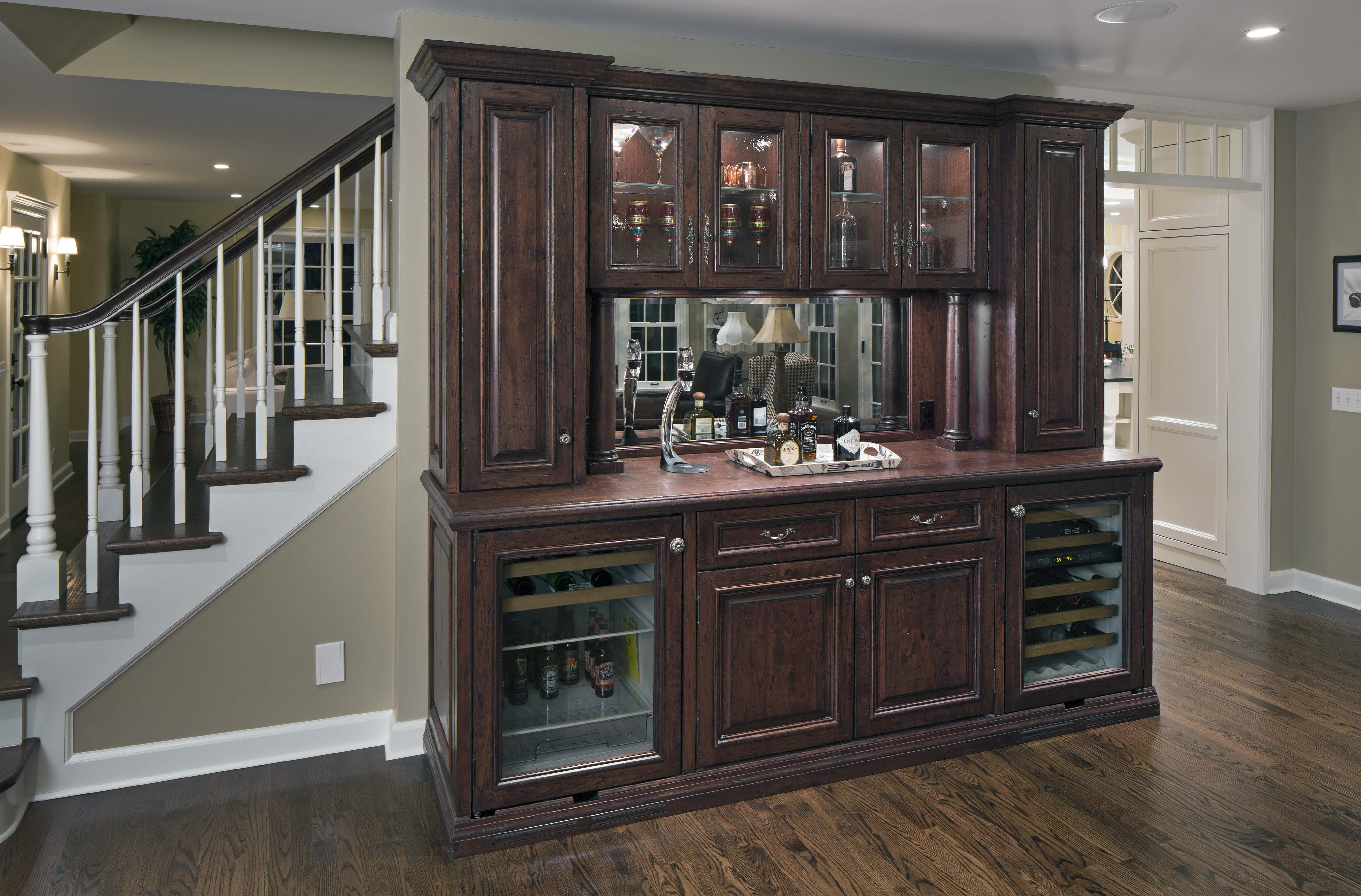 Farmhouse Wet Bar