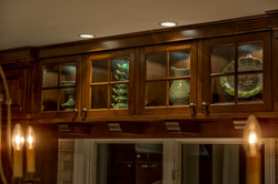 Stained Alder Cabinets