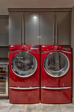 High Gloss Laundry Room