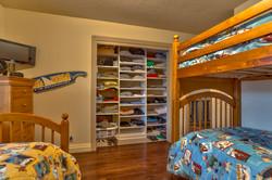 White Melamine Bedroom Closet