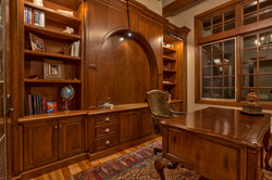 Cherry Office Cabinets