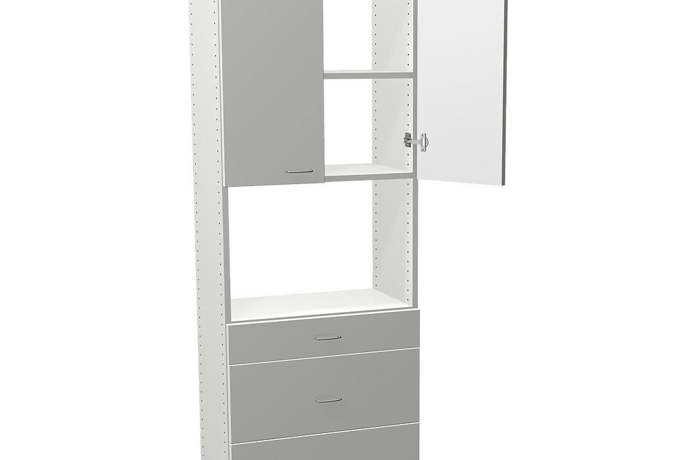 "Small Door and Drawer Unit (14"" Dp)"