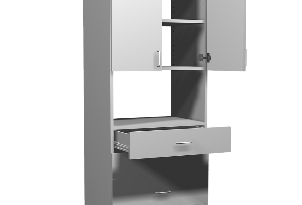 "Large Door and Drawer Unit (18"" Dp)"