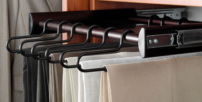 Pull-Out Pants Rack