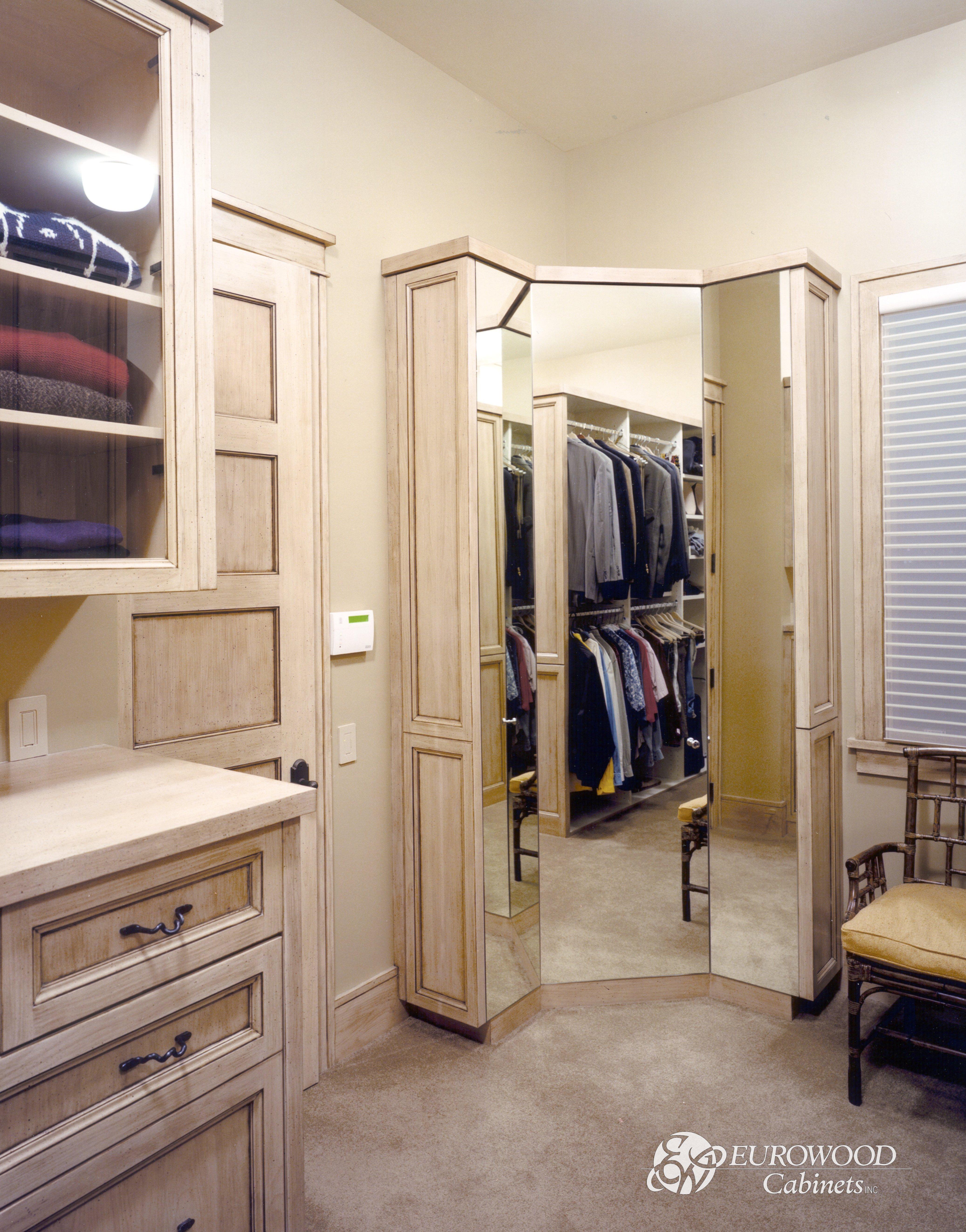 Custom Closet by Eurowood Cabinets
