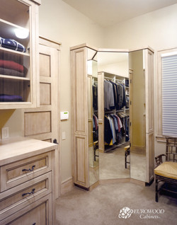 Custom Closet by Eurowood Cabinets