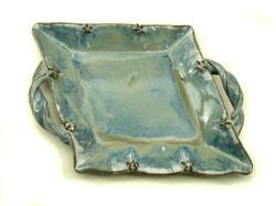 rhombus blue platter