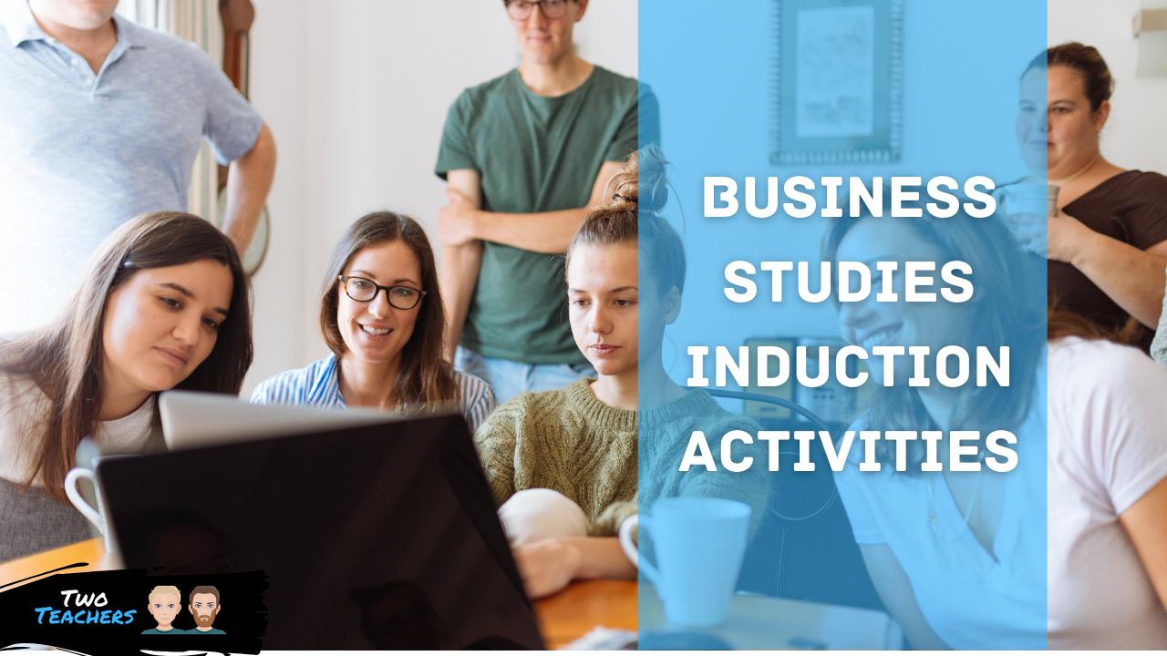 Business Studies Induction