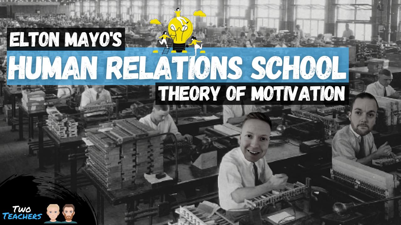 Elton Mayo's Theory of Motivation