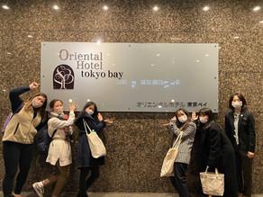 【活動報告】オリエンタルホテル  東京ベイ様を担当してみて