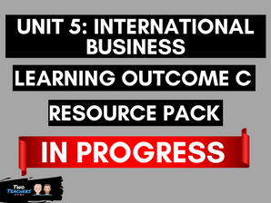 Unit 5: International Business LOC CURRENTLY BEING CREATED