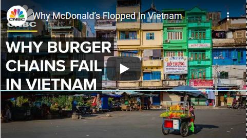 McDonald's Flopped in Vietnam