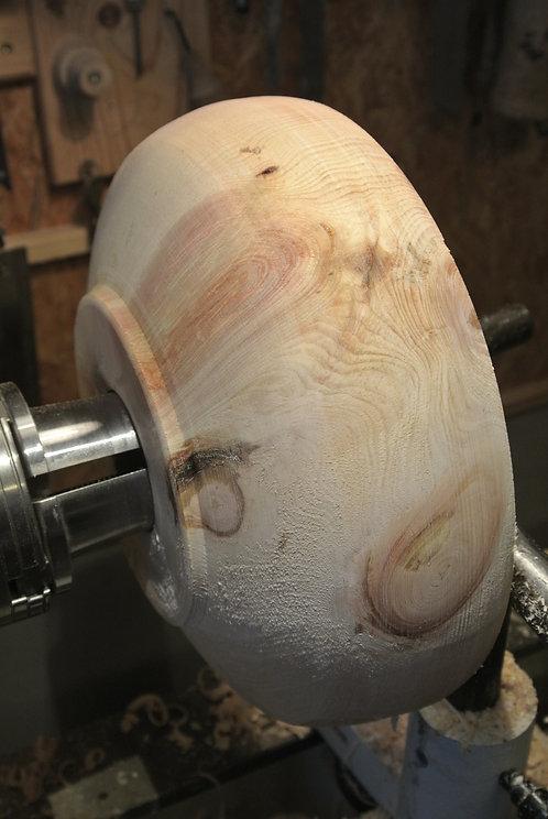 Drechselkurs Zirbenholzschale
