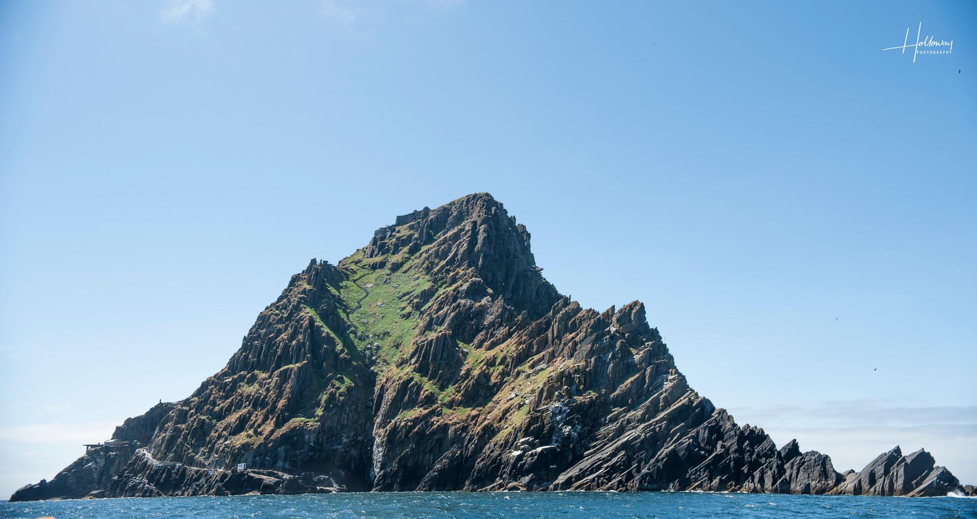 Skellig Michael Island off the coast of Ireland