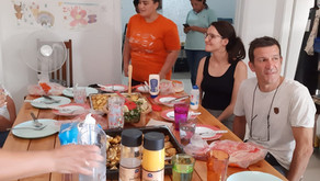 Looking back on our summer activities 1: Visit from EcoSolidar