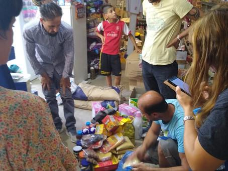 Besuch im Flüchtlingslager Ritsona