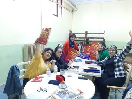 Englisch-Unterricht im Town-Camp in Lavrio