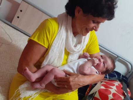 A Newborn in the Kurdish Camp