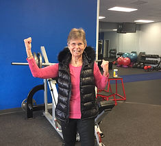 Betty at Physique Fitness