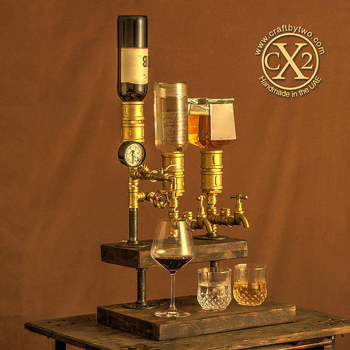 TRIPLE WINE AND SPIRIT DISPENSER