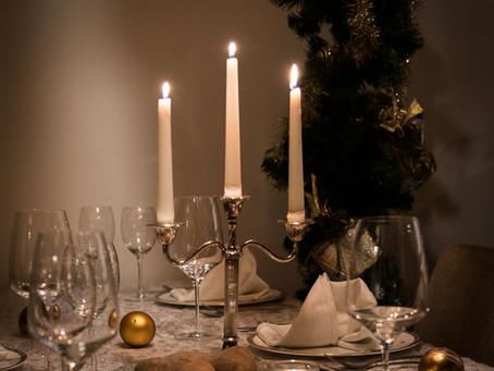 Fotografie tijdens het kerstdiner