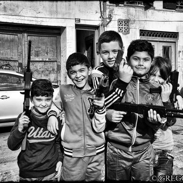 When guns make kids smile