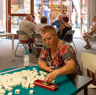 14 augustus 2020  Ook dit jaar gaven we weer mahjongdemonstraties tijdens Zomer in Haven