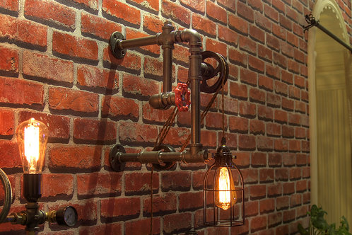 Pulley Sconce Wall Sconce